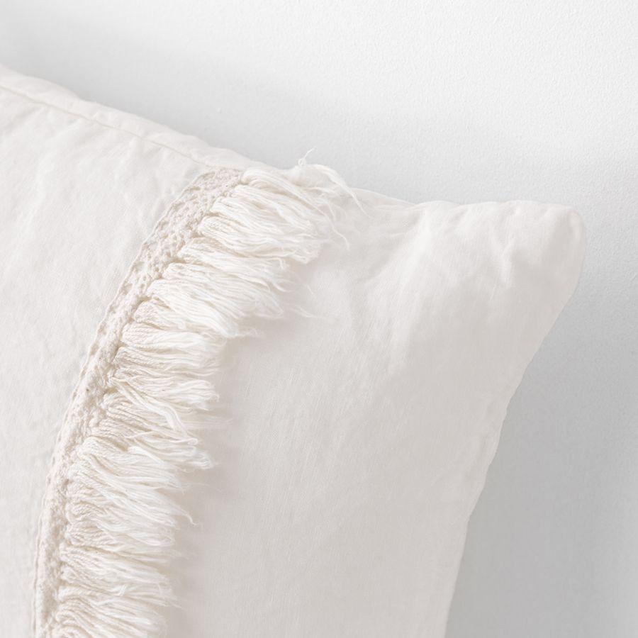 Aline cuscino 45x45 bianco