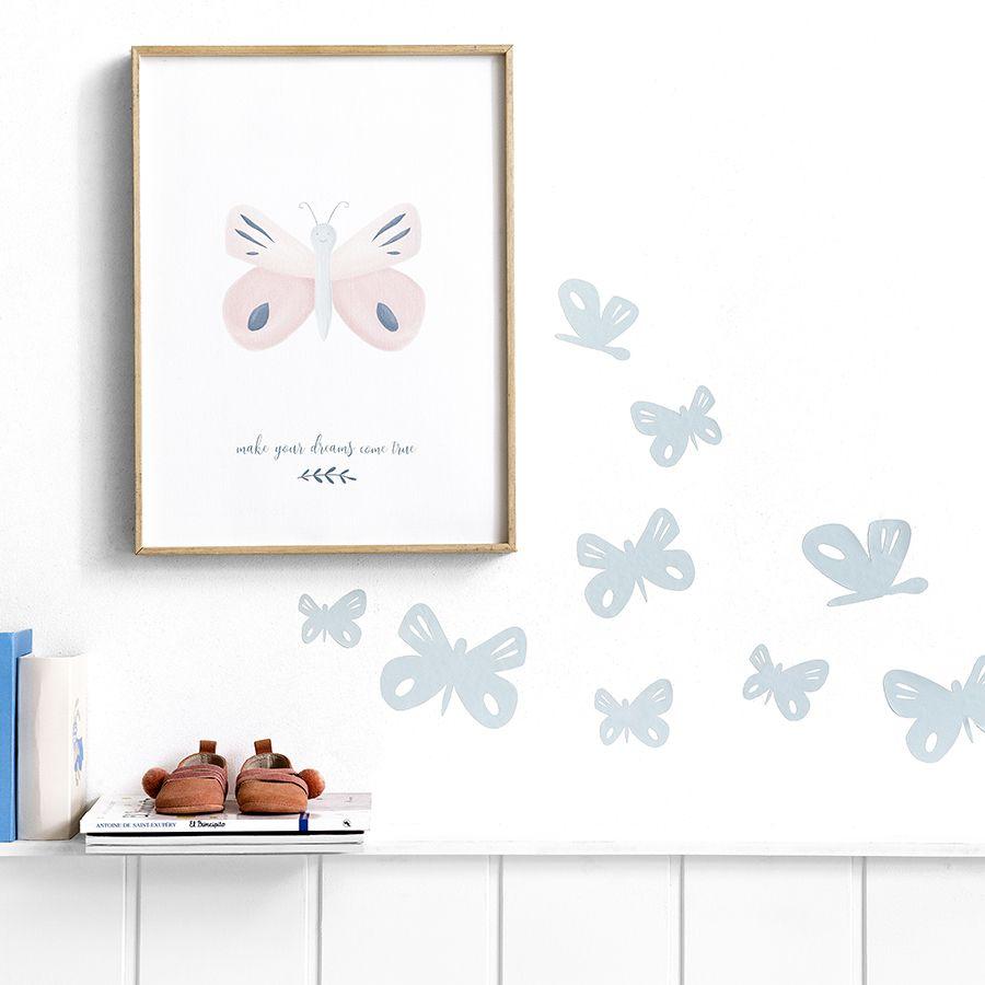Farfalle adesive da parete - Libbi