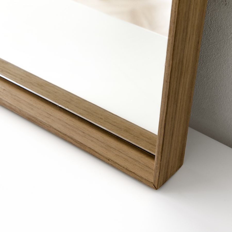 Basic espejo nogal 90x60