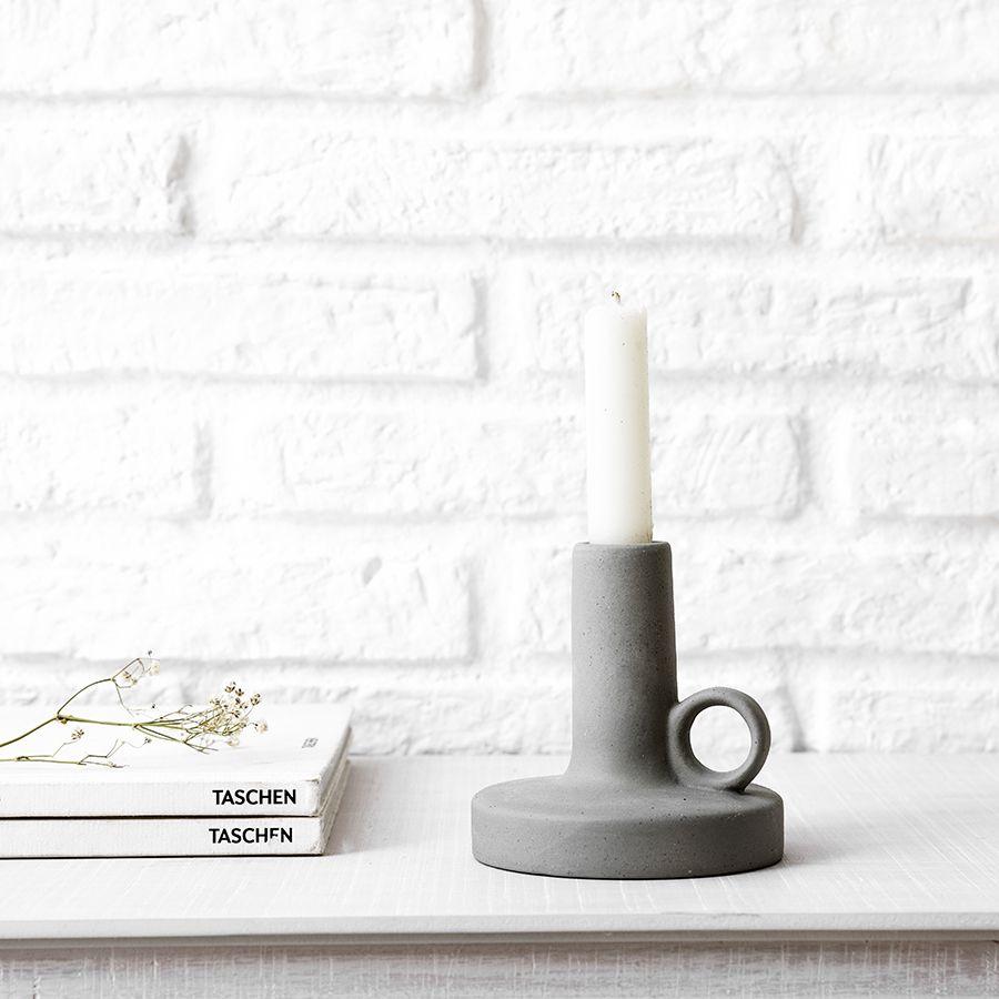 Candel portacandele bianco piccolo