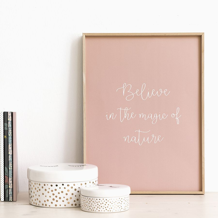 Believe stampa